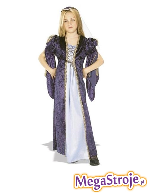 Kostium dziecięcy Julia Capuletti