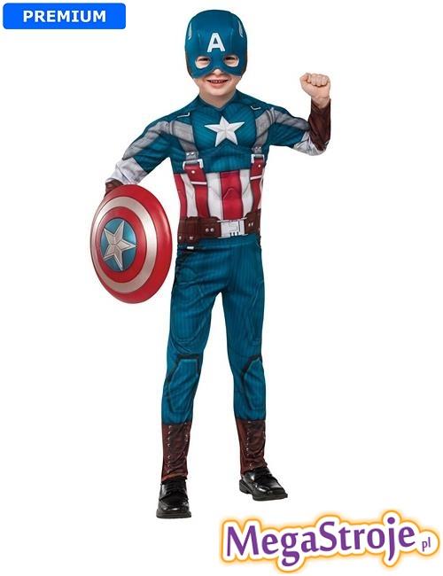 Kostium dziecięcy Kapitan Ameryka Zimowy Żołnierz
