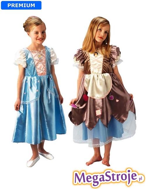 Kostium dziecięcy Kopciuszek Disney 2w1