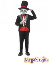 Kostium dziecięcy Kościotrup w Dzień Śmierci