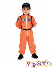 Kostium dziecięcy Kosmonauta pomarańczowy