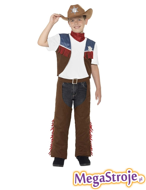 Kostium dziecięcy Kowboj z Texasu