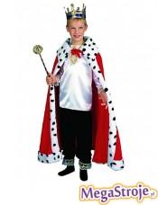 Kostium dziecięcy Król czerwony 2