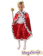 Kostium dziecięcy Król czerwony