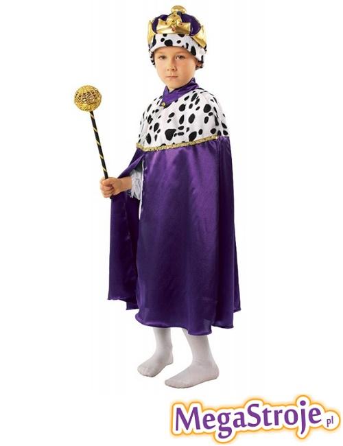 Kostium dziecięcy Król fioletowy