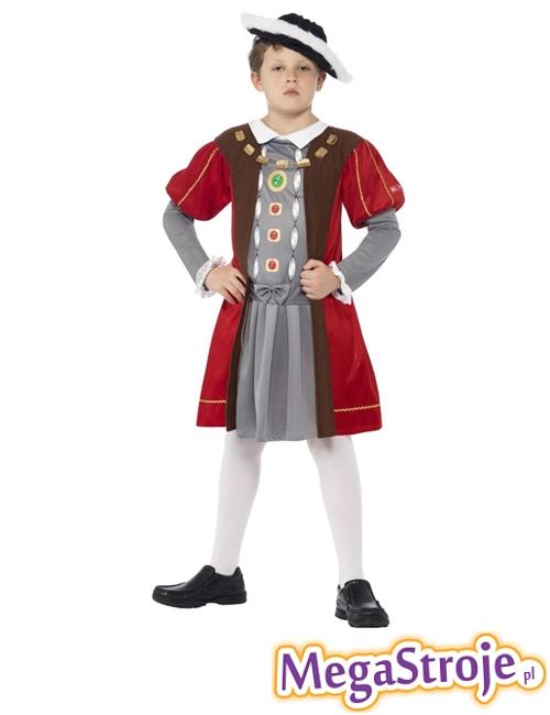 Kostium dziecięcy Król Henryk Tudor