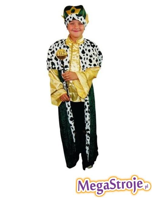 Kostium dziecięcy Król zielony