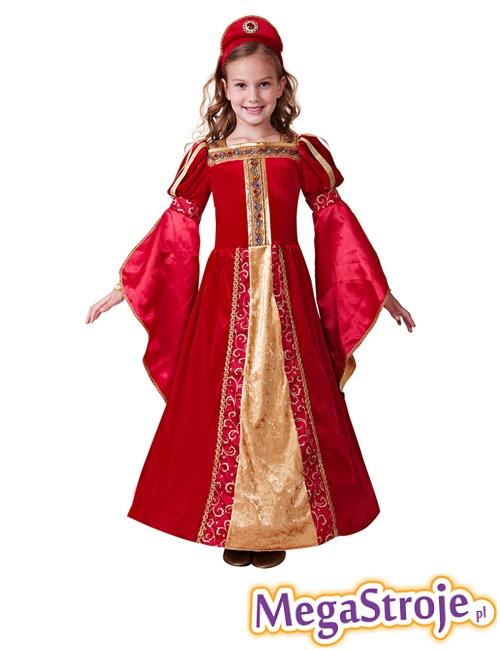 Kostium dziecięcy Królewna czerwona