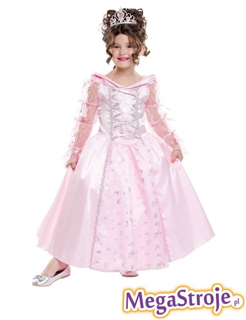 Kostium dziecięcy Królewna różowa