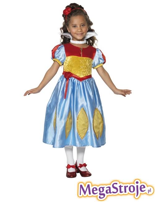 Kostium dziecięcy Królewna Śnieżka