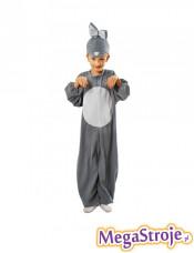 Kostium dziecięcy Królik szary