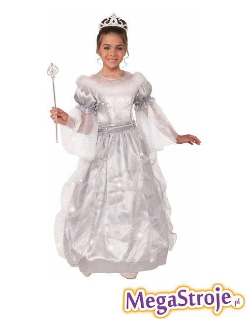 Kostium dziecięcy Księżniczka Disney biała