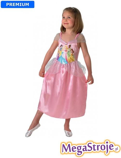 Kostium dziecięcy Księżniczka Disney różowa