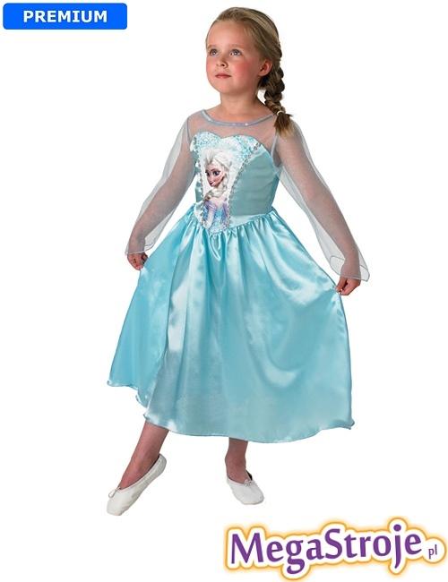 Kostium dziecięcy Księżniczka Elsa - Kraina Lodu Disney