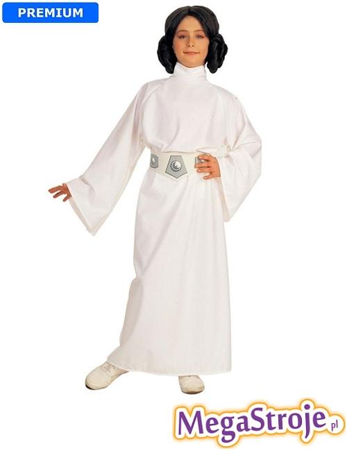 Kostium dziecięcy Księżniczka Leia