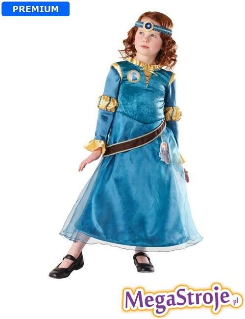 Kostium dziecięcy Księżniczka Merida deluxe