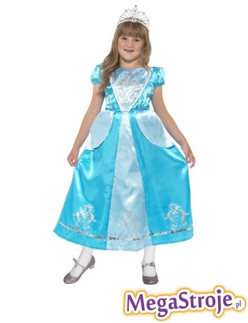 Kostium dziecięcy Księżniczka niebieska