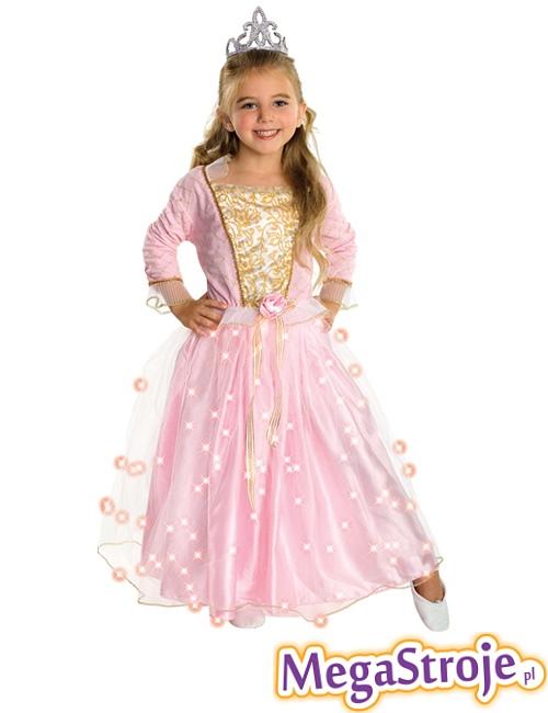 Kostium dziecięcy Księżniczka świecąca 2