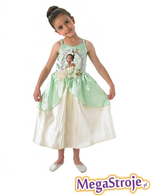 Kostium dziecięcy księżniczka Tiana