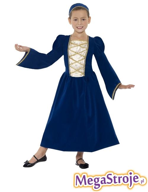 Kostium dziecięcy Księżniczka Tudor