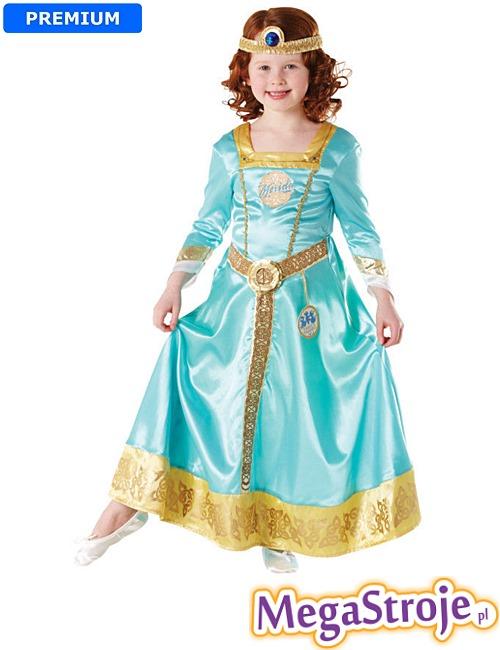 Kostium dziecięcy Księżniczki Meridy