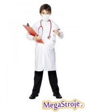 Kostium dziecięcy Lekarz biały