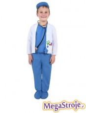 Kostium dziecięcy Lekarz niebieski