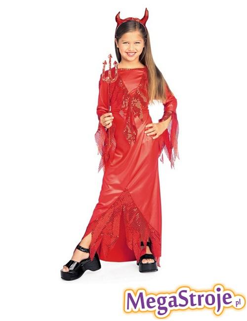 Kostium dziecięcy Mała Diablica