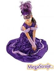 Kostium dziecięcy Mała Księżniczka fioletowa