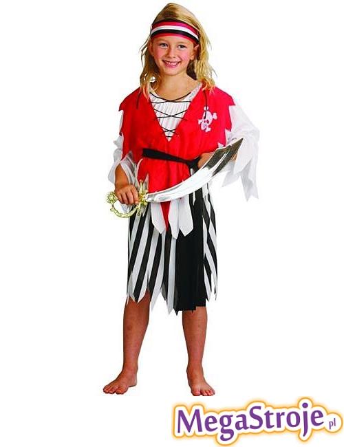 Kostium dziecięcy Mała Piratka
