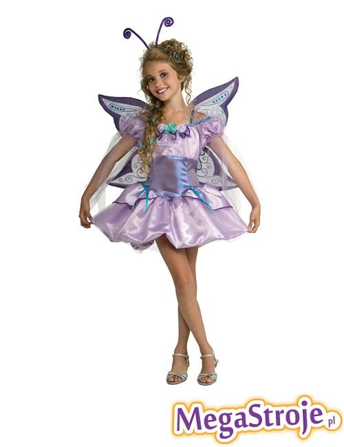 Kostium dziecięcy Motylek fioletowy