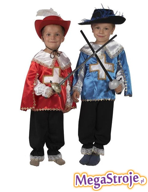 Kostium dziecięcy Muszkieter 3