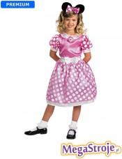 Kostium dziecięcy Myszka Minnie Disney różowa
