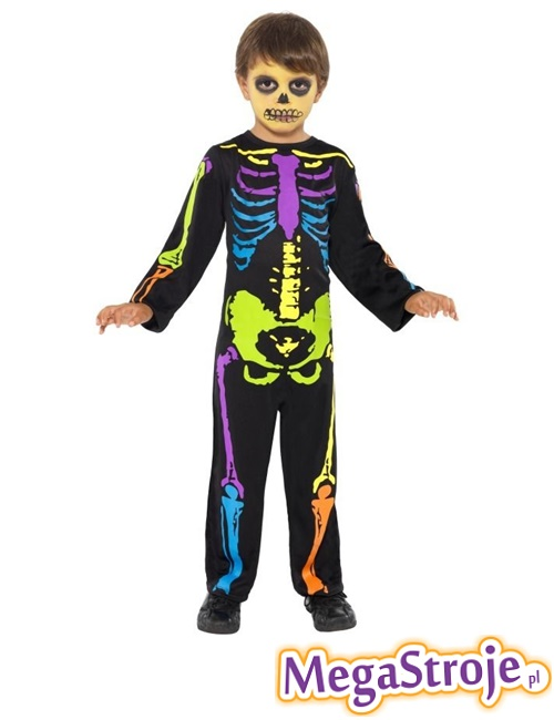 Kostium dziecięcy Neonowy szkielecik