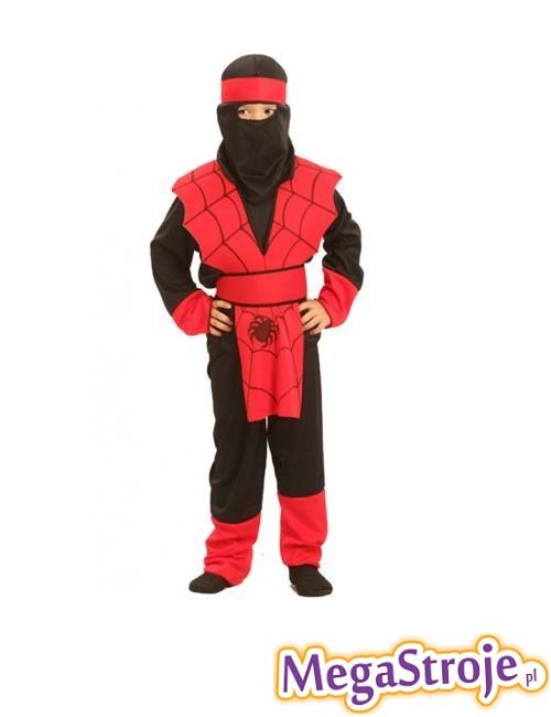 Kostium dziecięcy Ninja różowy