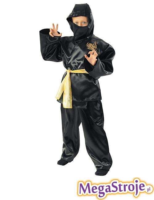 Kostium dziecięcy Ninja złoty