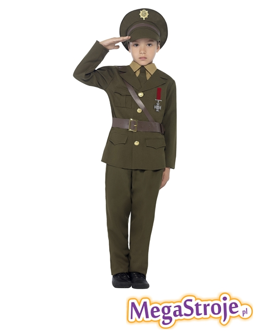Kostium dziecięcy Oficer