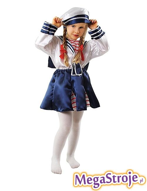 Kostium dziecięcy Pani Marynarz