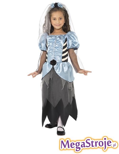 Kostium dziecięcy Panna Młoda gotyk