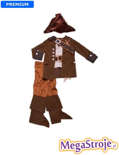 Kostium dziecięcy Pirat z Karaibów Disney