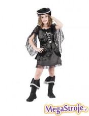 Kostium dziecięcy Piratka czarna