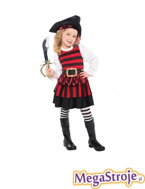 Kostium dziecięcy Piratka lux 1
