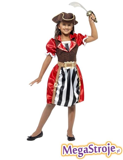 Kostium dziecięcy Piratka lux