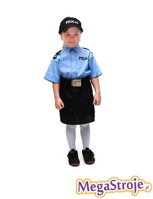 Kostium dziecięcy Policjantka