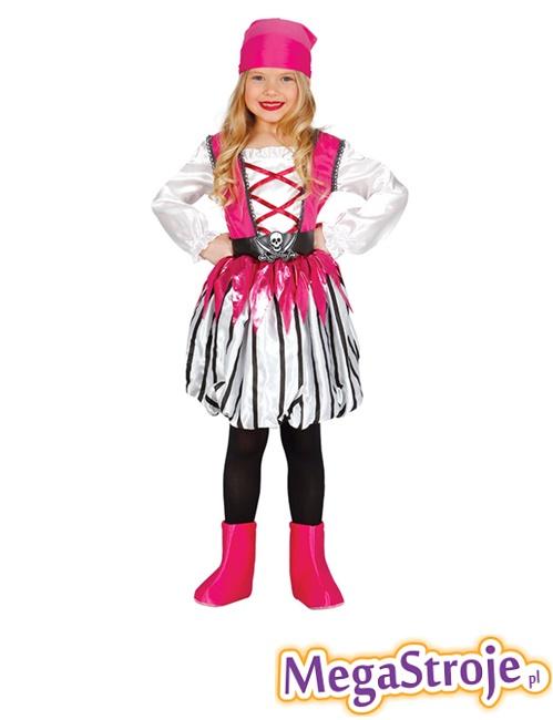 Kostium Dziecięcy Różowa Piratka 2