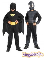 Kostium dziecięcy Spiderman i Batman 2w1