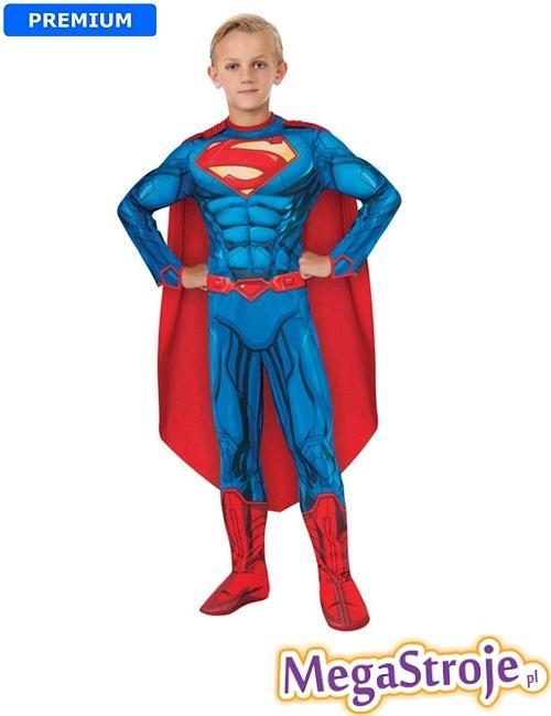 Kostium dziecięcy Superman deluxe