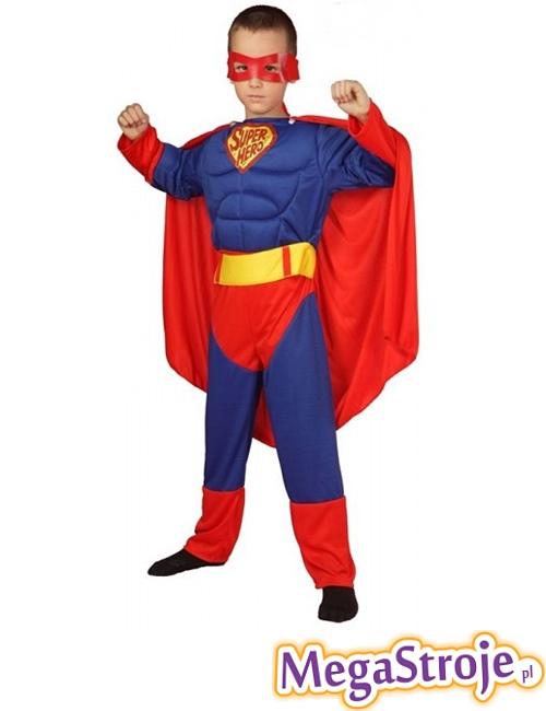 Kostium dziecięcy Superman z mięśniami