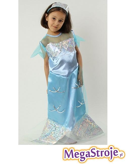 Kostium dziecięcy Syrenka niebieska