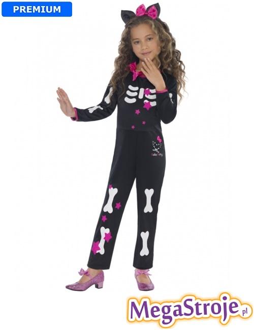 Kostium dziecięcy Szkielecik Hello Kitty